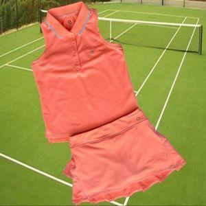 🎾Salmon Tennis Outfit🎾